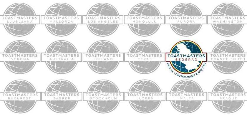 Toastmasters Belgrade – Host Of The Competition